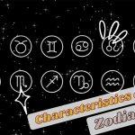 Characteristics of Each Zodiac Sign