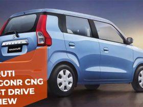 Maruti WagonR CNG First Drive Review