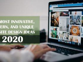 unique website design ideas 2020