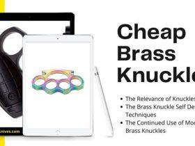 Cheap Brass Knuckles Can Still Class-Up Your Life