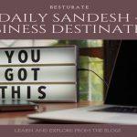 A business destination that leads towards success