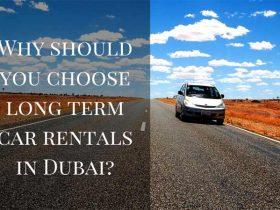 Long Term Car Rentals in Dubai