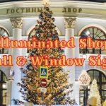 Illuminated Shop Wall & Window Signs